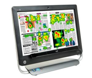 Tobii X2 Eyetracker für Blickverlaufmessungen