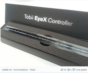 Tobii EyeX Gaze Tracking Controller - ein interessanter Eye Tracker auch für Gamer