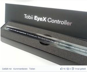 Tobii EyeX Gaze Tracking Controller - ein interessanter Eye Tracker auch für Gamer