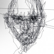 Nur mit den Augen und einem Eye Tracker Kunst entstehen lassen